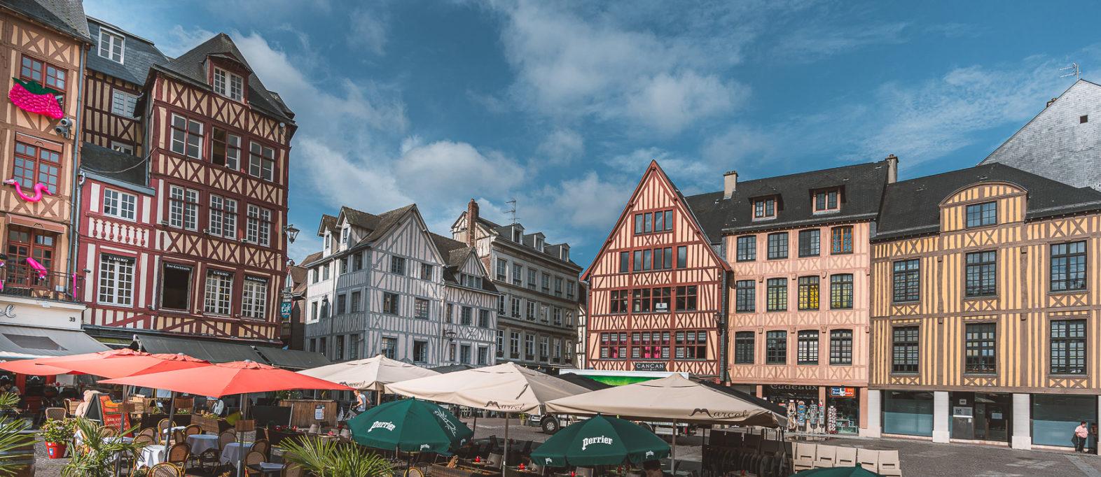Rouen Sehenswürdigkeiten Place du Vieux Marché