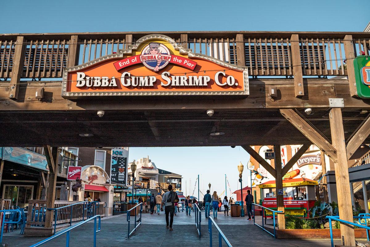 Bubba Gumb Shrimp Co. San Francisco