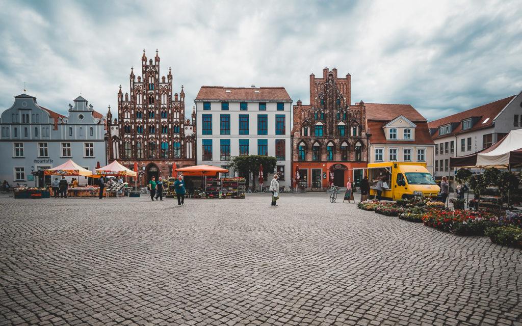 Sehenswürdigkeit Greifswald: Marktplatz