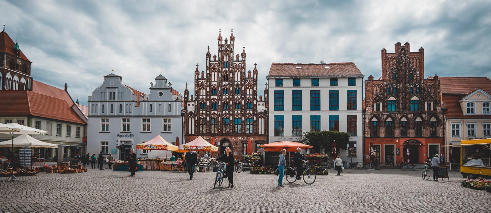 Marktplatz in Greifwald