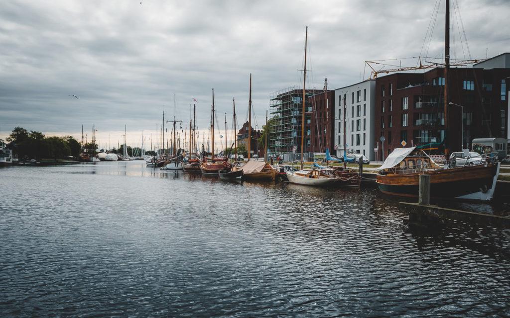 Kostenlose Sehenswürdigkeit: Museumshafen in Greifswald
