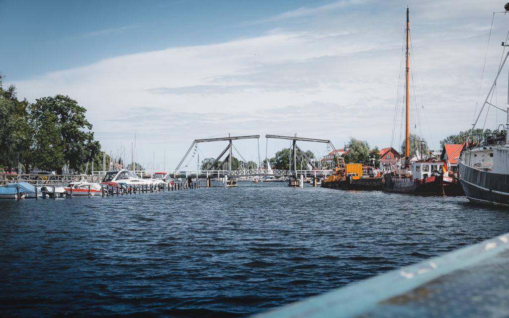 Holzbrücke in Wieck (Greifswald)