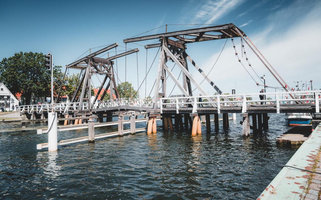 Holzbrücke Wieck Greifswald