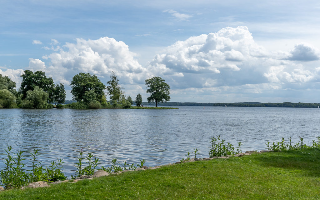 Schweriner See, viertgrößter Binnensee in Deutschland.