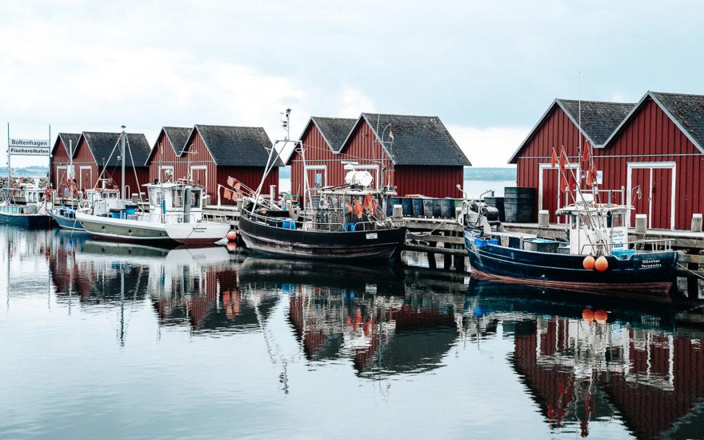 Fischereihafen Boltenhagen Weiße Wieck