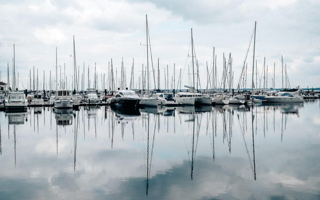Boltenhageb Yachthafen Weiße Wieck