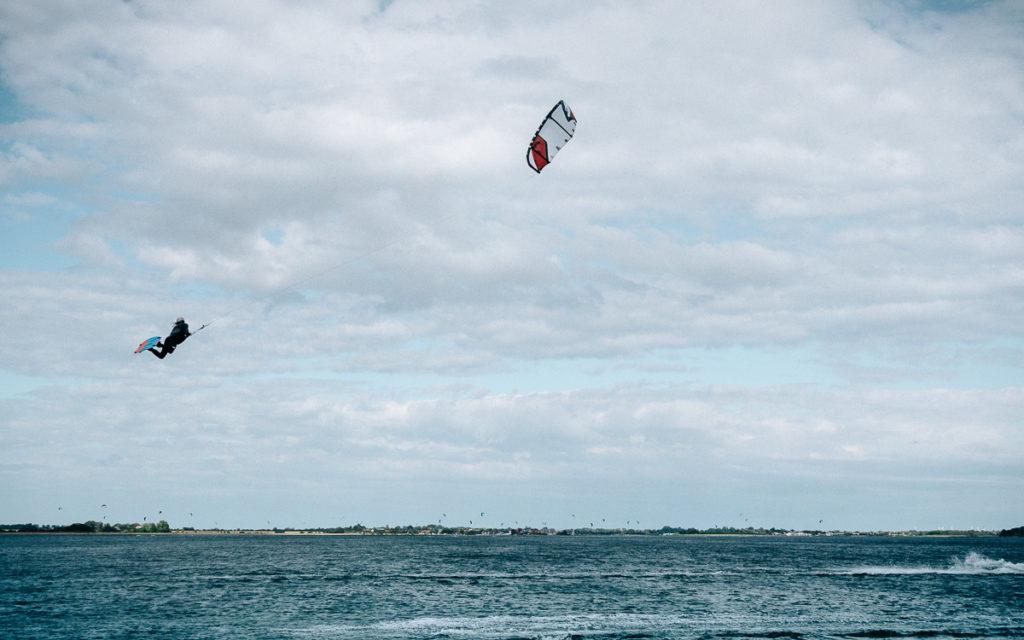 Kitesurfer Insel Fehmarn