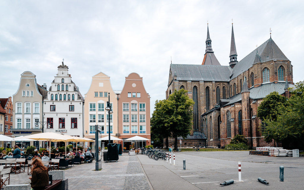 Marienkirche Neuer Markt Rostock