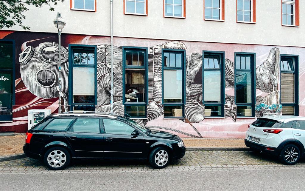 Rostock KTV Street Art