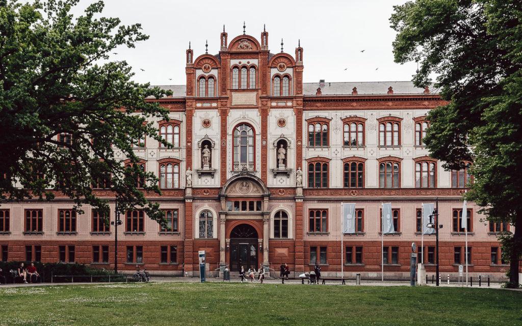 Universität Rostock Hauptgebäude