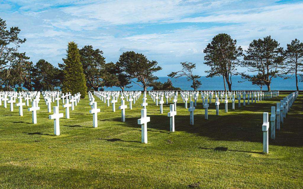 Amerikanischer Soldatenfriedhof in der Normandie