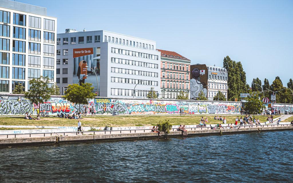 Berlin East Side Gallery Mauer