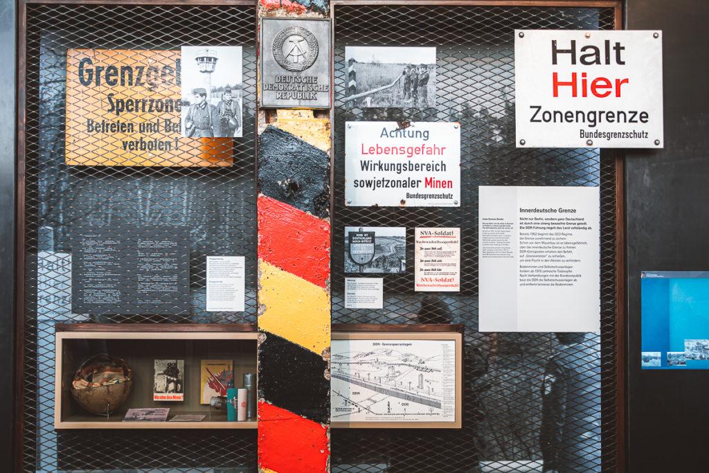 Überbleibsel der DDR Grenzerfahrungen Berlin