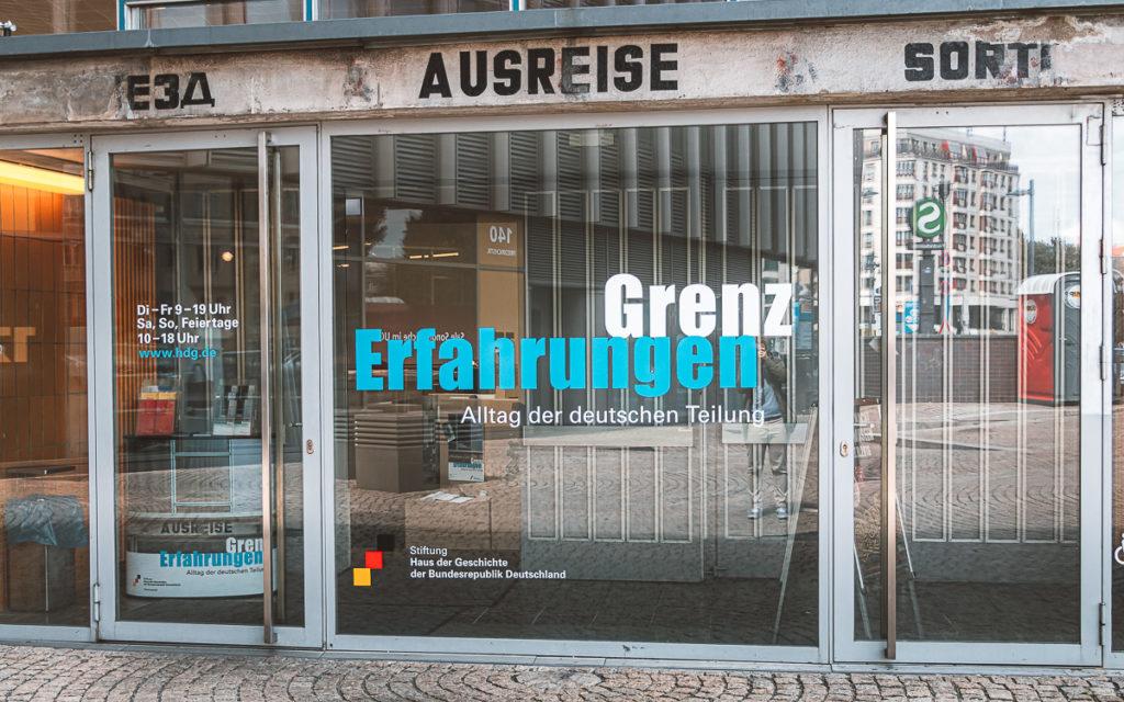 Berlin Dauerausstellung GrenzErfahrungen