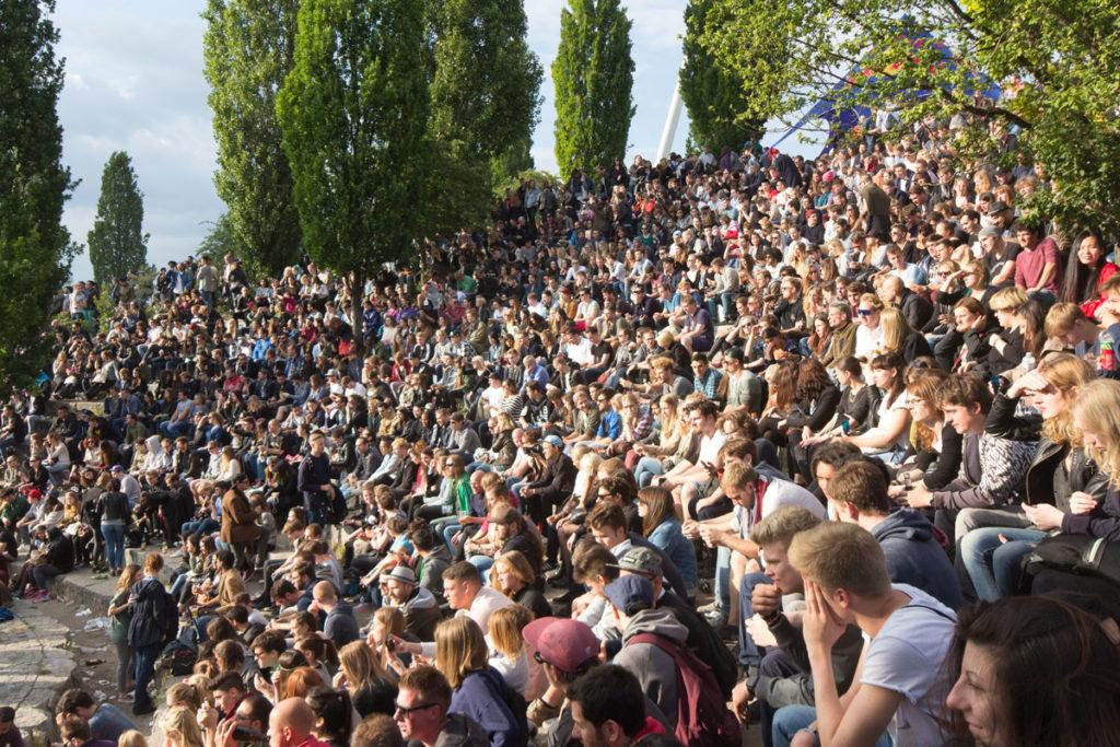 Mauerpark Berlin Karaoke