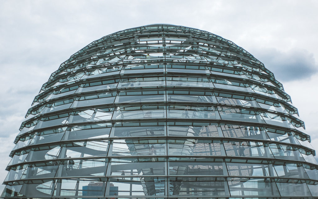 Berlin Sehenswürdigkeit Kuppel Reichstag