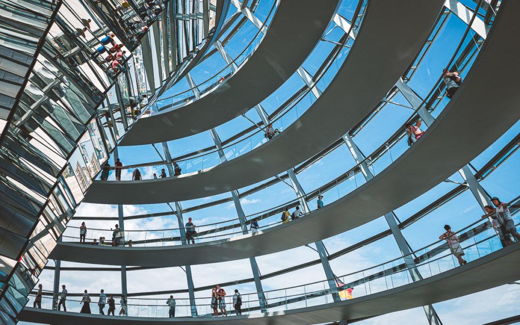Reichtstag Berlin Kuppel besichtigen