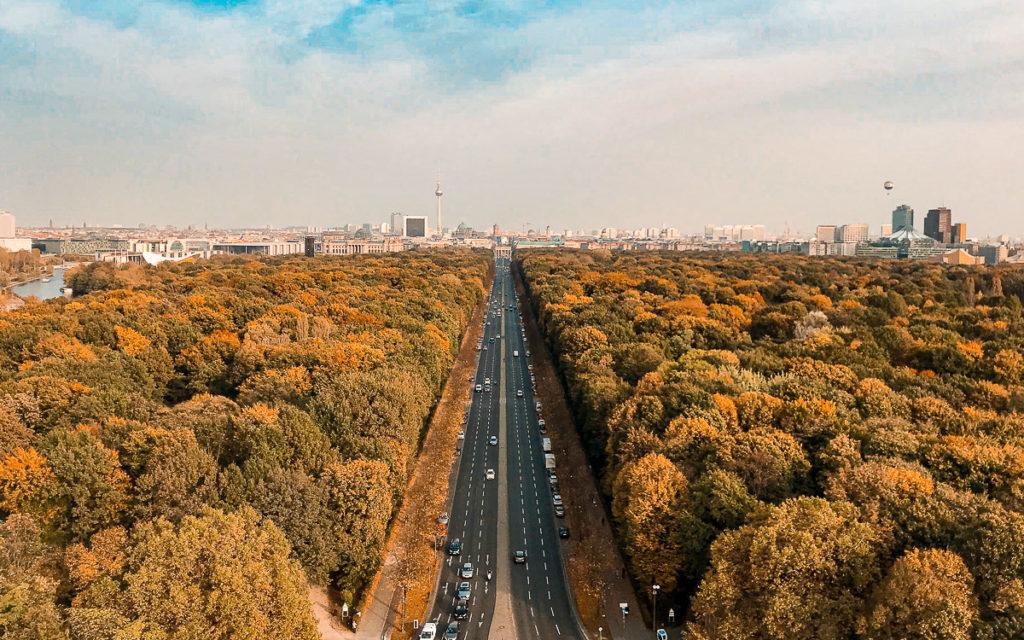 Berlin Siegessäule Aussichtsplattform