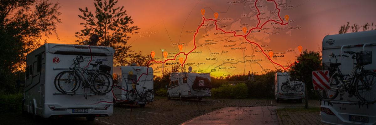 Camping an der Ostsee: Highlights mit Route von Usedom bis Fehmarn