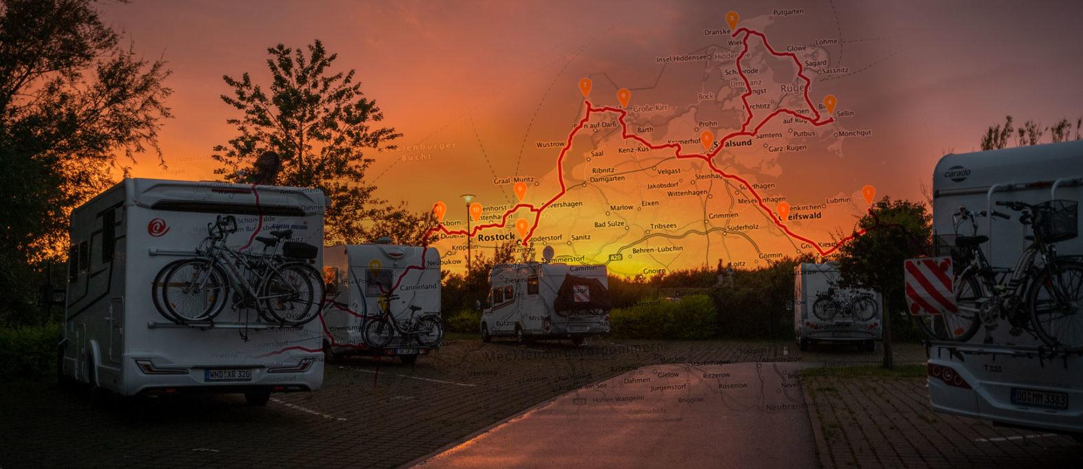 Camping Ostsee Wohnmobil Karte