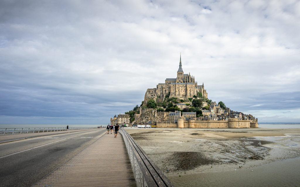 Mont-Saint Michel zu Fuß