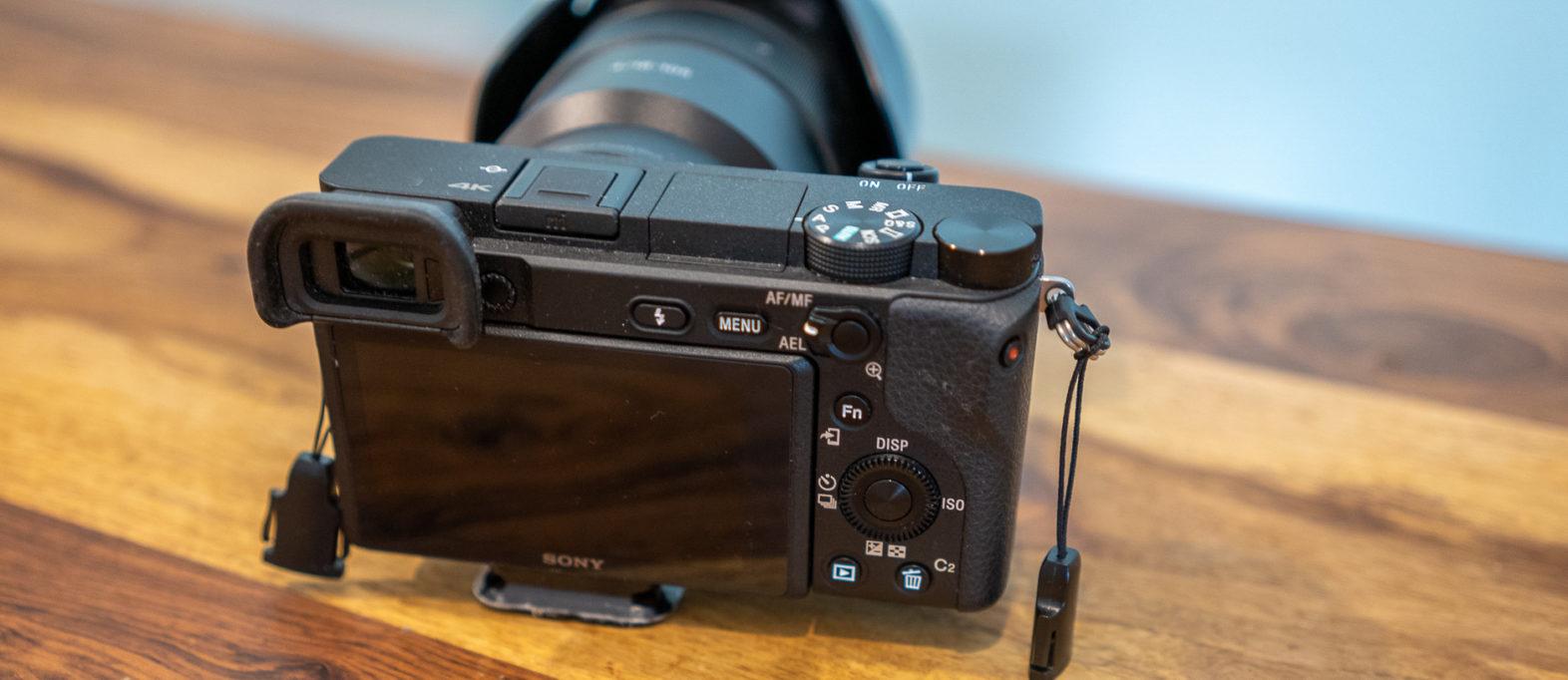 Sony Alpha 6000 Kamera Display Foto