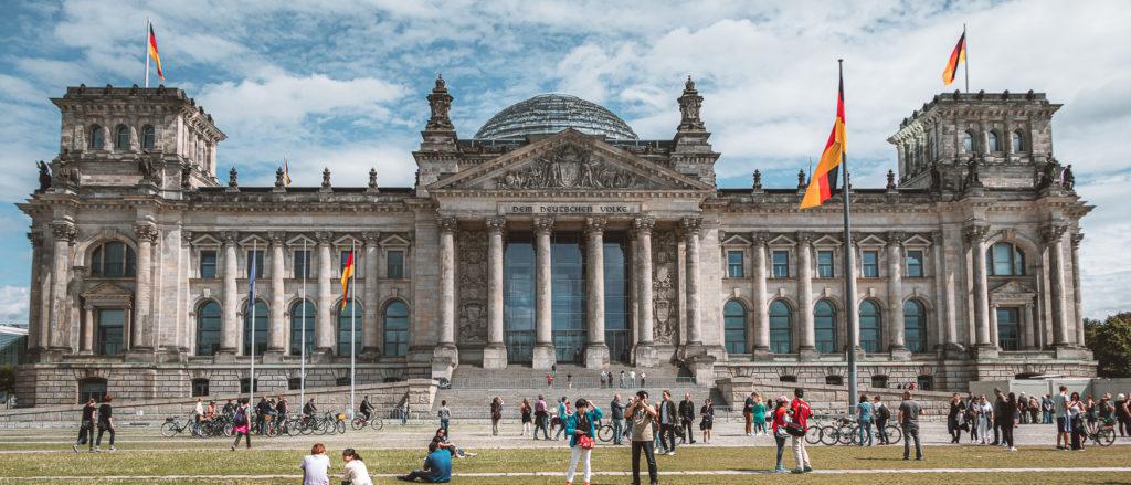 Reichstag mit Kuppel Berlin