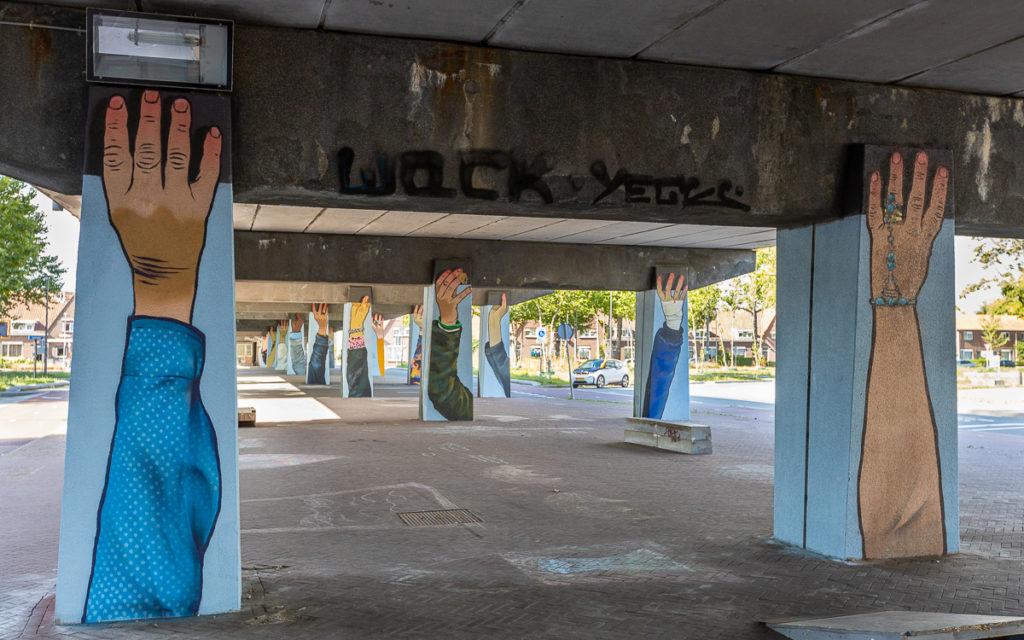 Strijp-S Eindhoven Street Art Brücken
