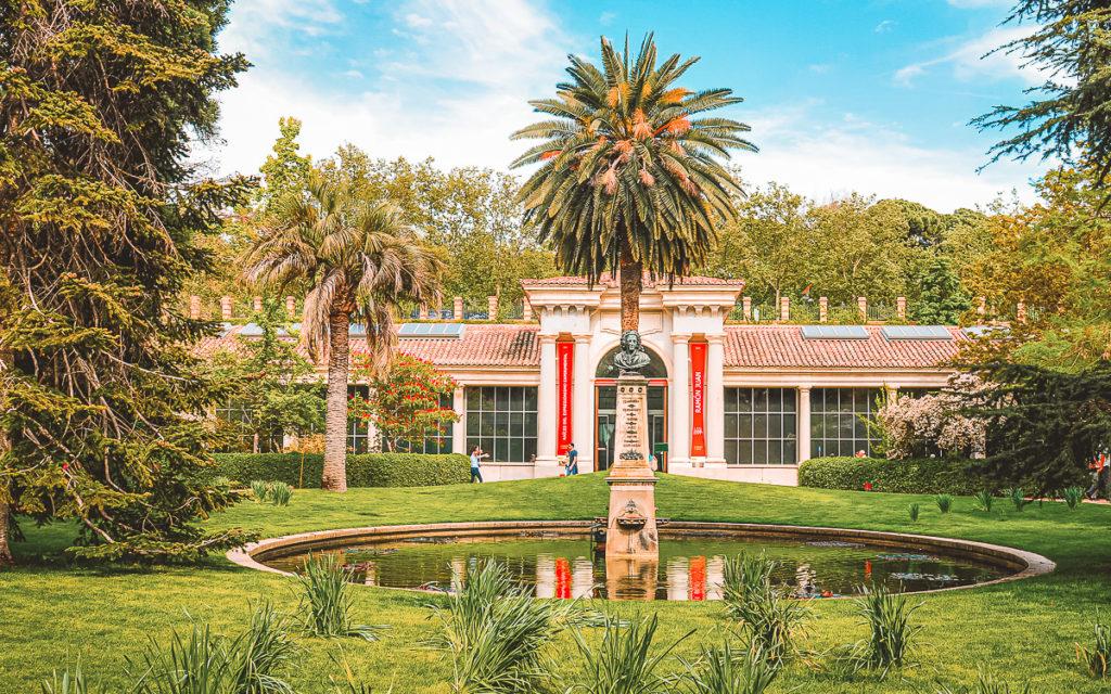 Real Jardín Botánico, königlicher Botanischer Garten von Madrid.