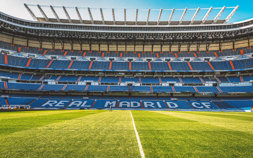 Estadio Santiago Bernabéu, Stadion des Real Madrid.
