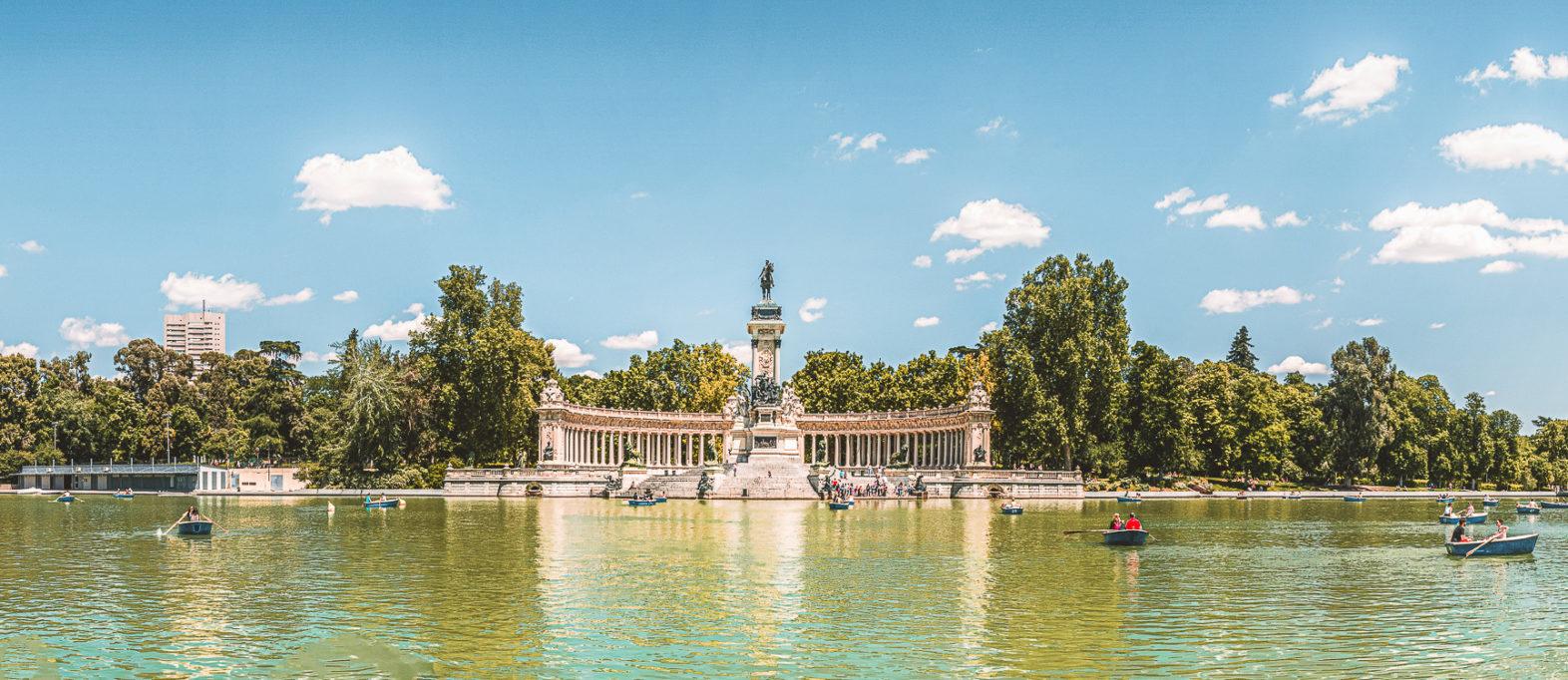 Madrid Sehenswürdigkeiten Retiro Park