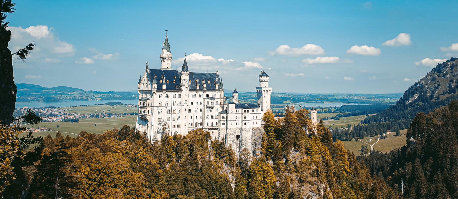 Schloss Neuschwanstein Aussichtspunkt Marienbrücke