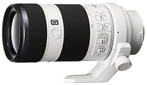 Sony Alpha 7 Objektiv 70 - 200 mm