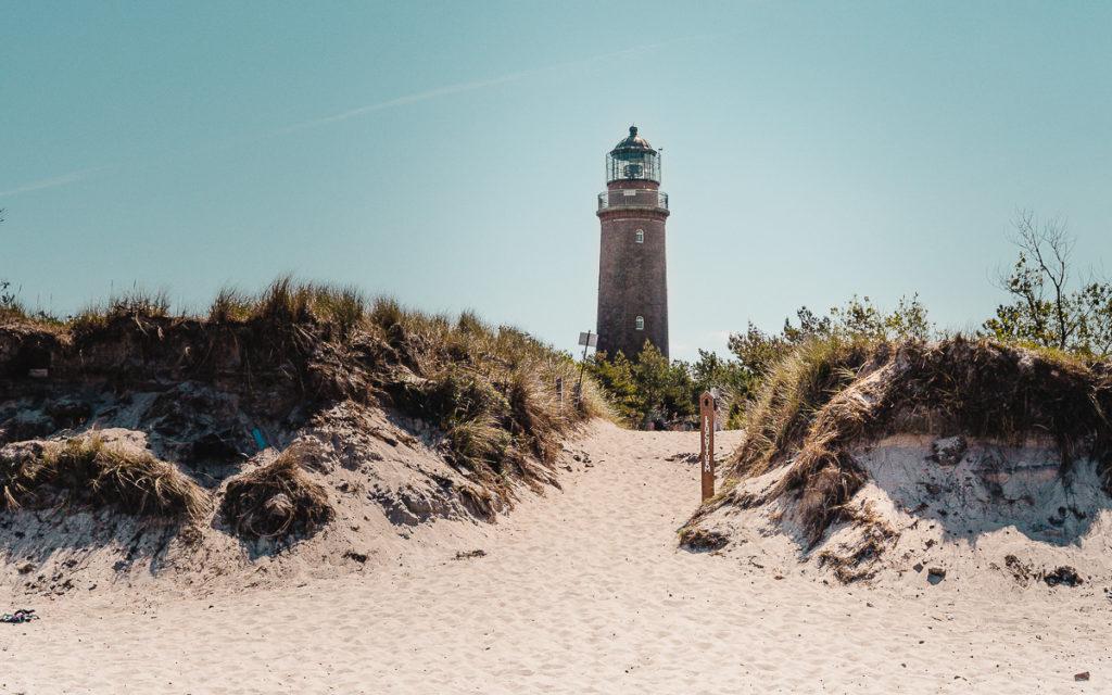 Darsser Ort Leuchtturm Highlight