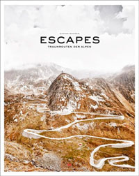 Buch Escapes: Traumrouten der Alpen