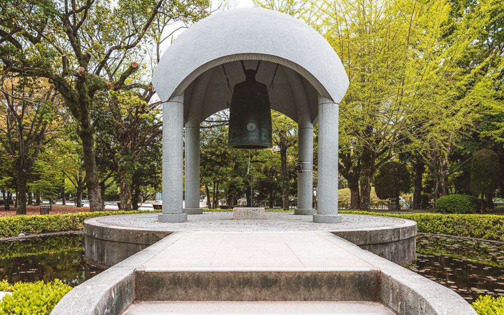 Friedensglocke Hiroshima Friedenspark