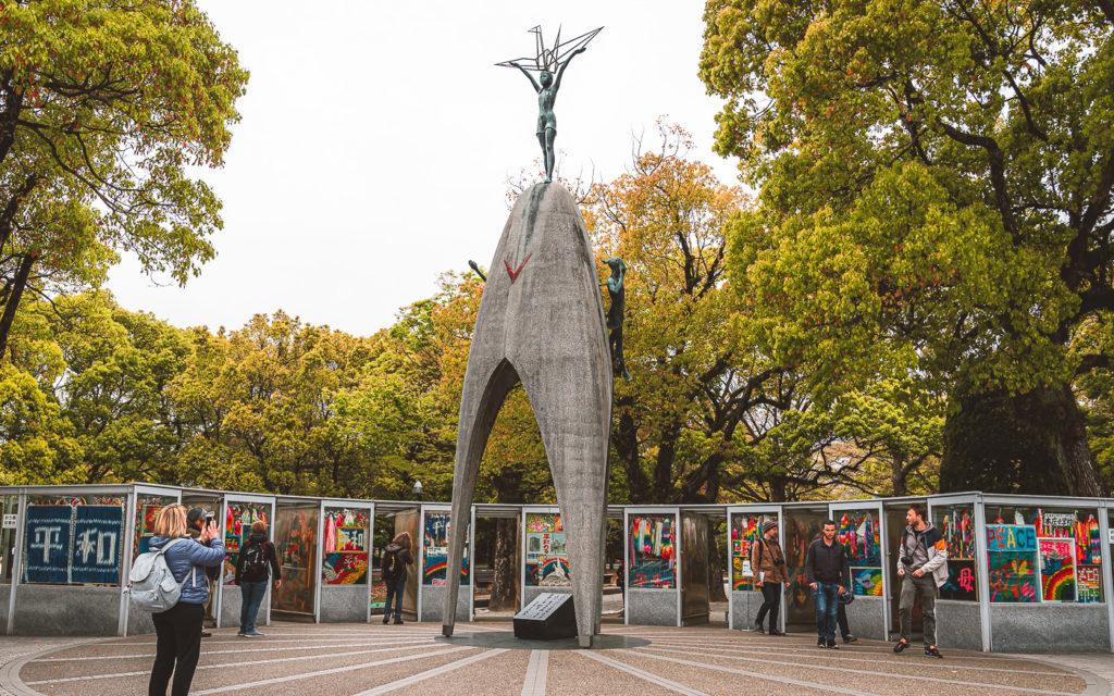 Kinderdenkmal in Hiroshima
