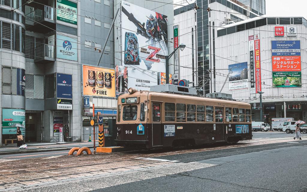 S-Bahn Hiroshima Japan