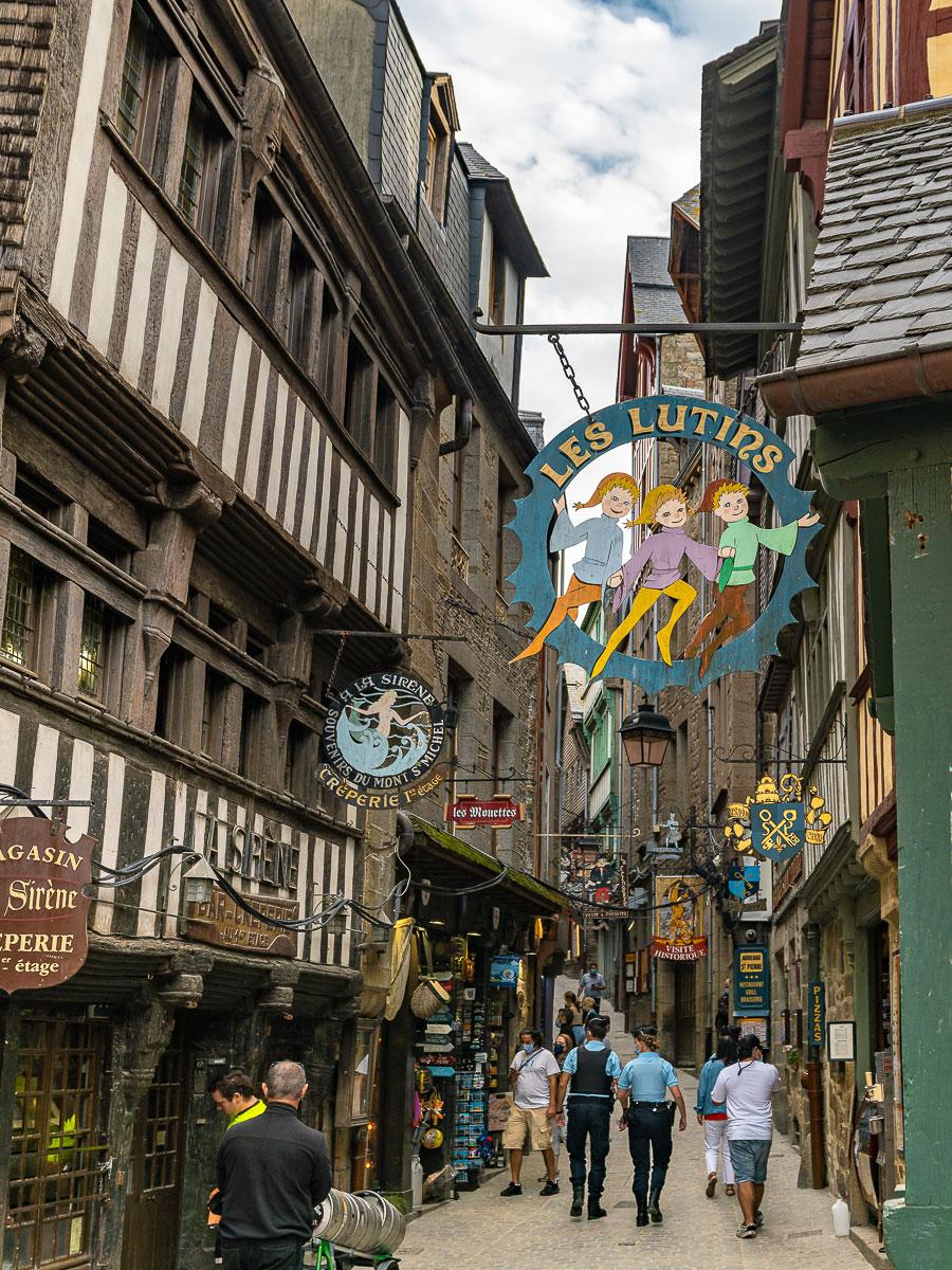 Grand Rue Mont-Saint Michel