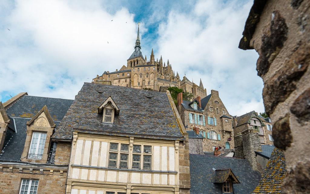 Aussichten Klosterberg Mont-Saint Michel