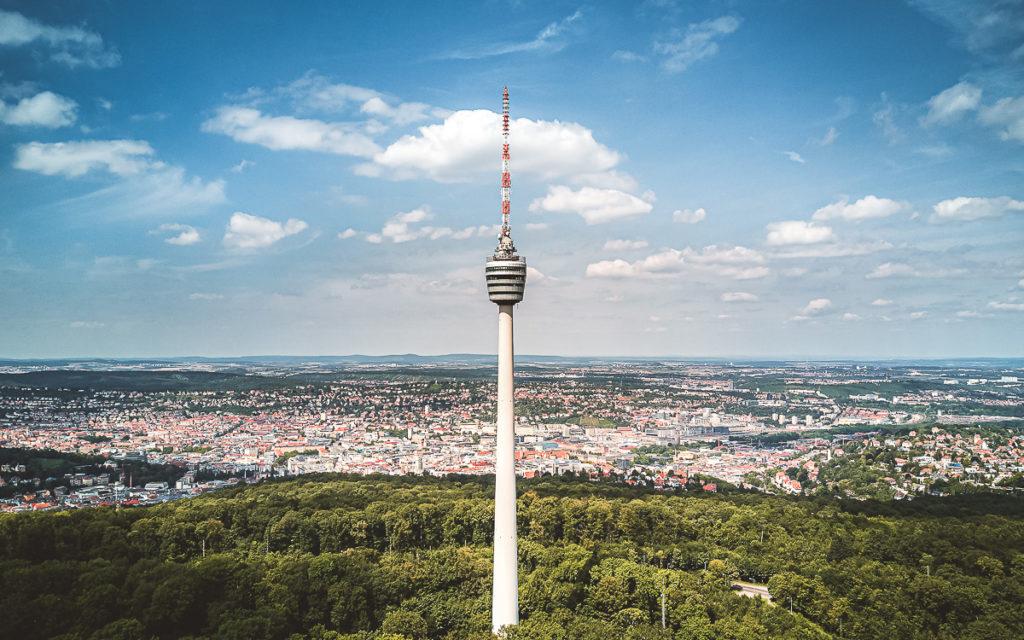 Fernsehturm Stuttgart auf den Fildern