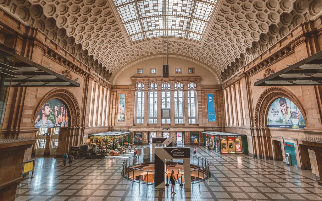 Hauptbahnhof Leipzig, schönster Bahnhof in Deutschland