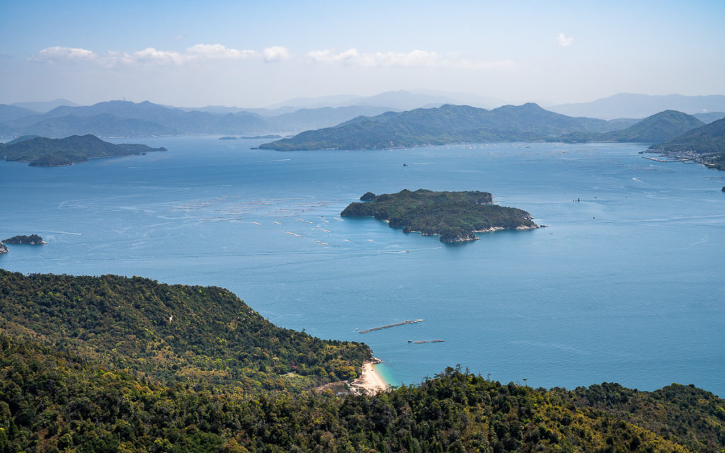 Aussicht Mount Misen Miyajima
