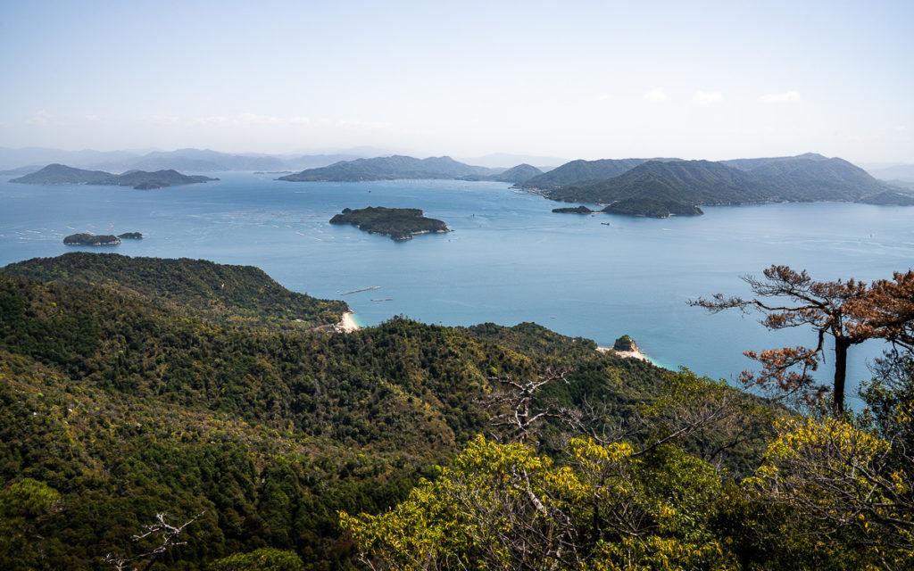 Aussicht Japan Miyajima Mt. Misen