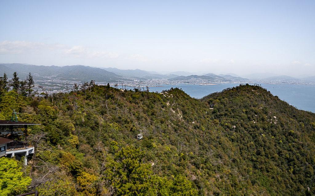 Seilbahn Berg Misen Miyajima Japan