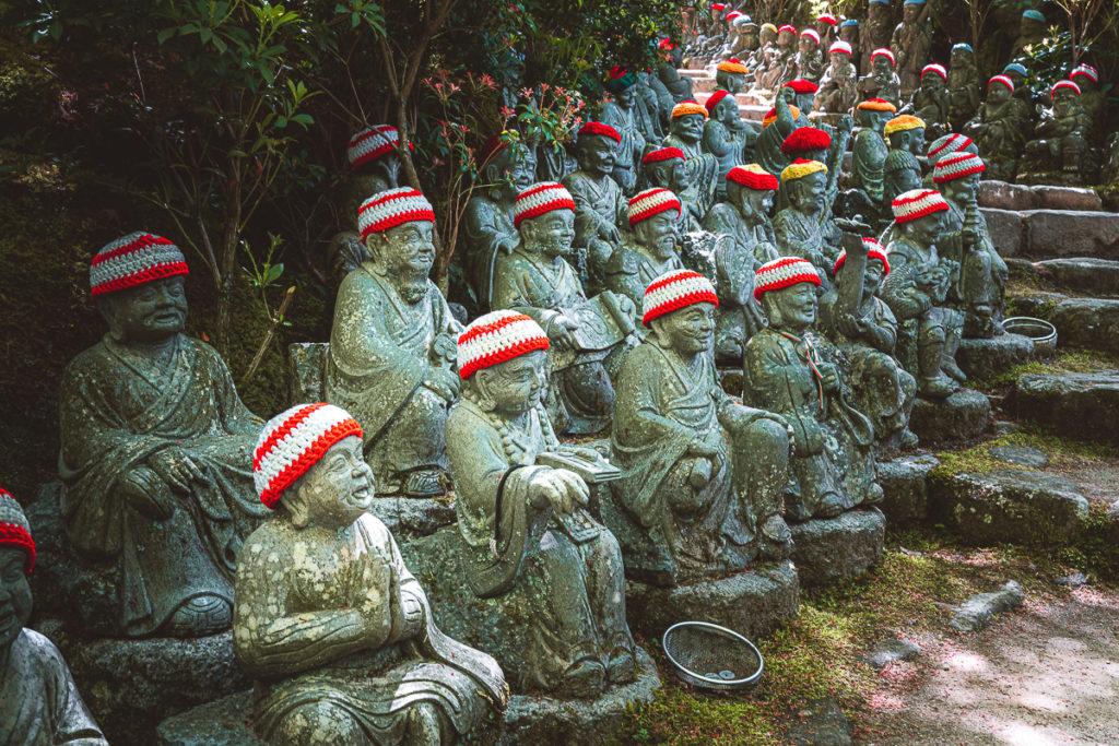 Buddhas Treppen Daisho-in Miyajima