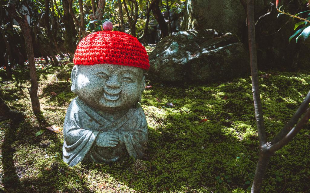 Steinbuddha Daishoin Tempel Miyajima
