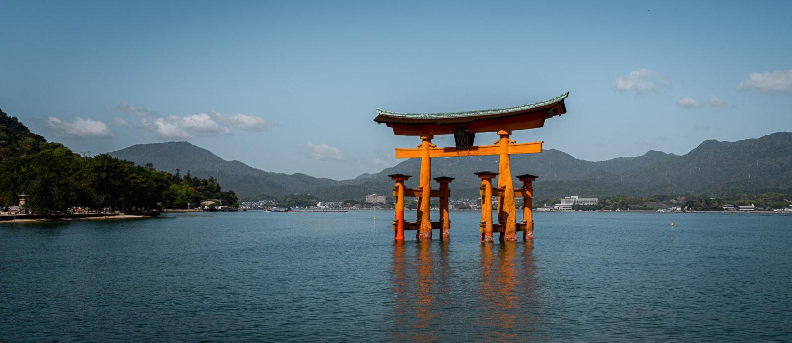Miyajima Island Japan Torii