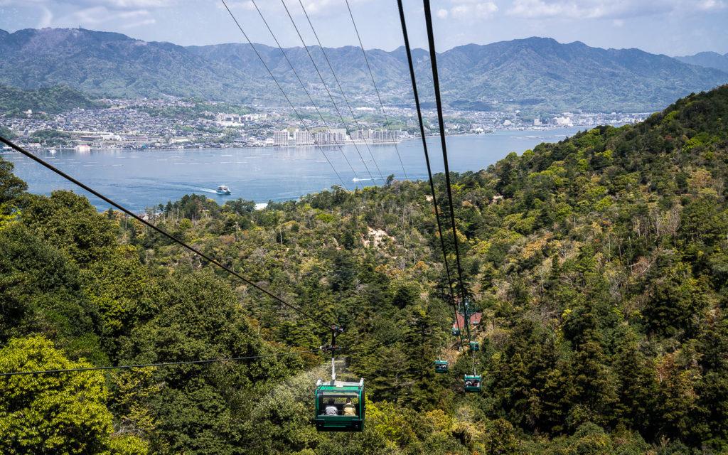 Seilbahn Miyajima Mount Misen