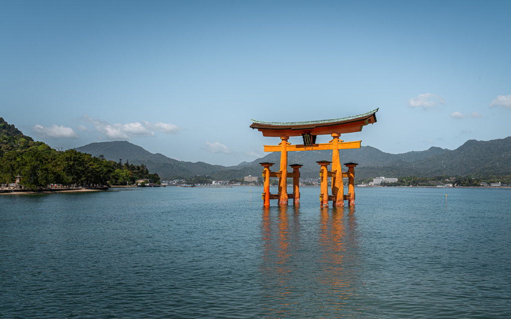 Wahrzeichen: Schwimmendes Torii Miyajima
